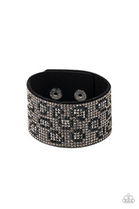 Cheetah Couture - Silver Paparazzi Bracelet - Pink Dragon Jewels