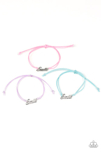 Smile! - Paparazzi Starlet Shimmer Bracelet - Pink Dragon Jewels