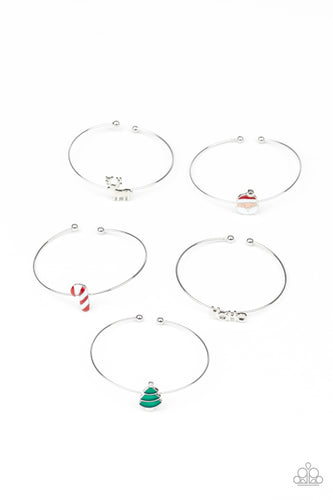 Christmas Bracelets - Paparazzi Starlet Shimmer - Pink Dragon Jewels