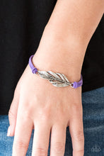 Load image into Gallery viewer, Faster Than FLIGHT - Purple Paparazzi Bracelet - Pink Dragon Jewels