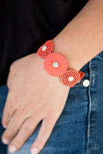 Load image into Gallery viewer, Poppin Popstar - Orange Paparazzi Bracelet - Pink Dragon Jewels