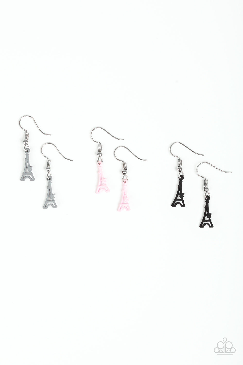 Eiffel Tower Earring - Paparazzi Starlet Shimmer - Pink Dragon Jewels
