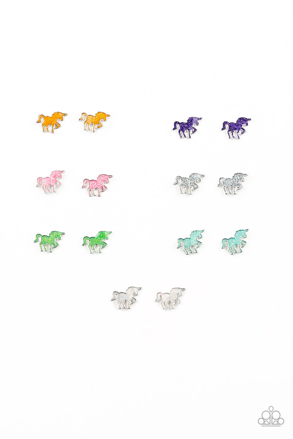 Unicorn Sparkle Post Earrings - Paparazzi Starlet Shimmer - Pink Dragon Jewels