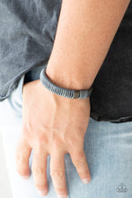 Load image into Gallery viewer, What Happens On The Road... - Gray Paparazzi Bracelet - Pink Dragon Jewels