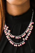 Load image into Gallery viewer, Beauty Shop Fashion - Orange Paparazzi Necklace - Pink Dragon Jewels