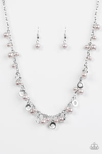 Elegant Ensemble - Silver Paparazzi Necklace - Pink Dragon Jewels