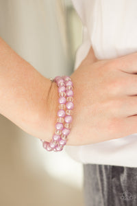Modestly Modest - Purple Paparazzi Bracelet - Pink Dragon Jewels