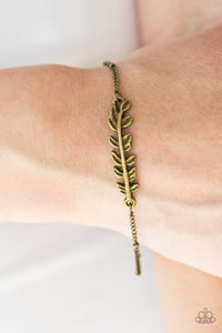 Bet The BRANCH - Brass Paparazzi Bracelet - Pink Dragon Jewels