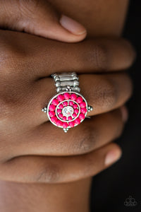 High-Tide Pool Party - Pink Paparazzi Ring - Pink Dragon Jewels