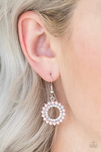A Proper Lady - Pink Paparazzi Earring - Pink Dragon Jewels