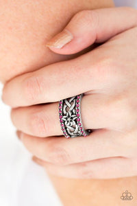 Tropical Springs - Pink Paparazzi Ring - Pink Dragon Jewels