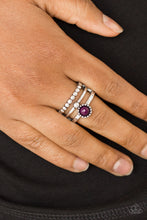 Load image into Gallery viewer, Summer Retreat - Purple Paparazzi Ring - Pink Dragon Jewels