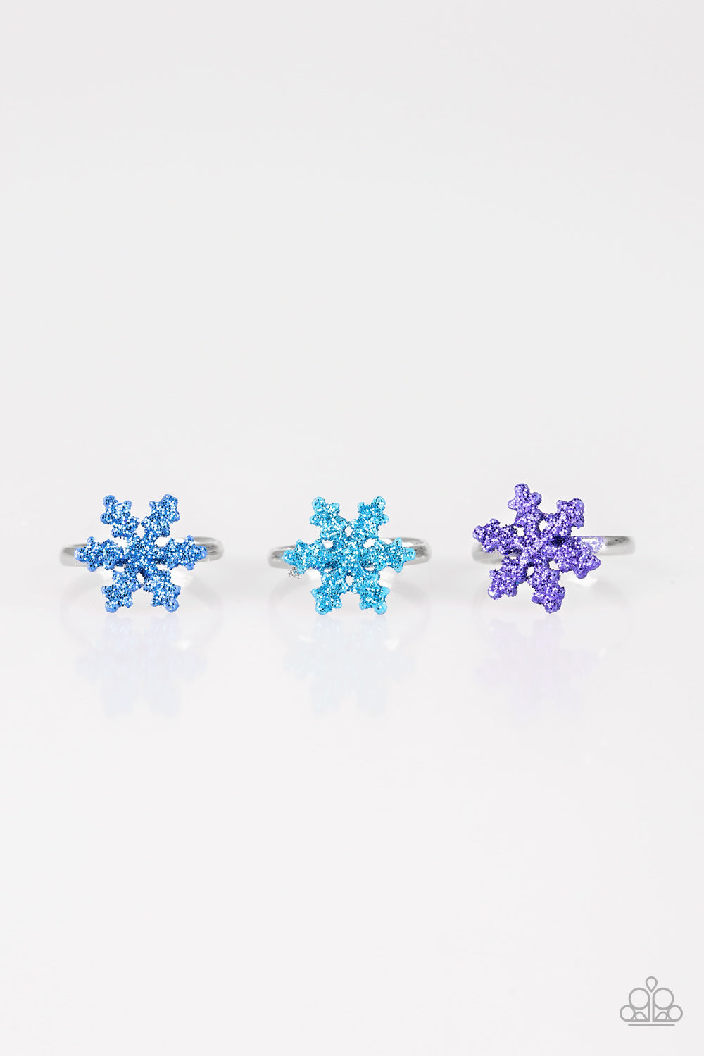 Snowflake Rings - Paparazzi Starlet Shimmer - Pink Dragon Jewels
