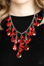 Load image into Gallery viewer, Irresistible Iridescence - Red Paparazzi Necklace - Pink Dragon Jewels