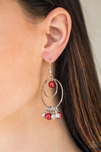 Load image into Gallery viewer, New York Attraction - Multi Paparazzi Earring - Pink Dragon Jewels