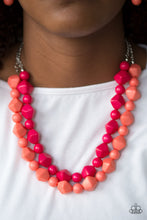 Load image into Gallery viewer, Rio Rhythm - Multi Paparazzi Necklace - Pink Dragon Jewels