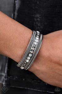 Empress Etiquette - Black Paparazzi Bracelet - Pink Dragon Jewels