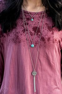 Life Is A Voyage - Blue Paparazzi Necklace - Pink Dragon Jewels