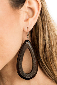 Malibu Mimosas - Brown Paparazzi Earring - Pink Dragon Jewels