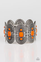 Load image into Gallery viewer, Turn Up The TROPICAL Heat - Orange Paparazzi Bracelet - Pink Dragon Jewels