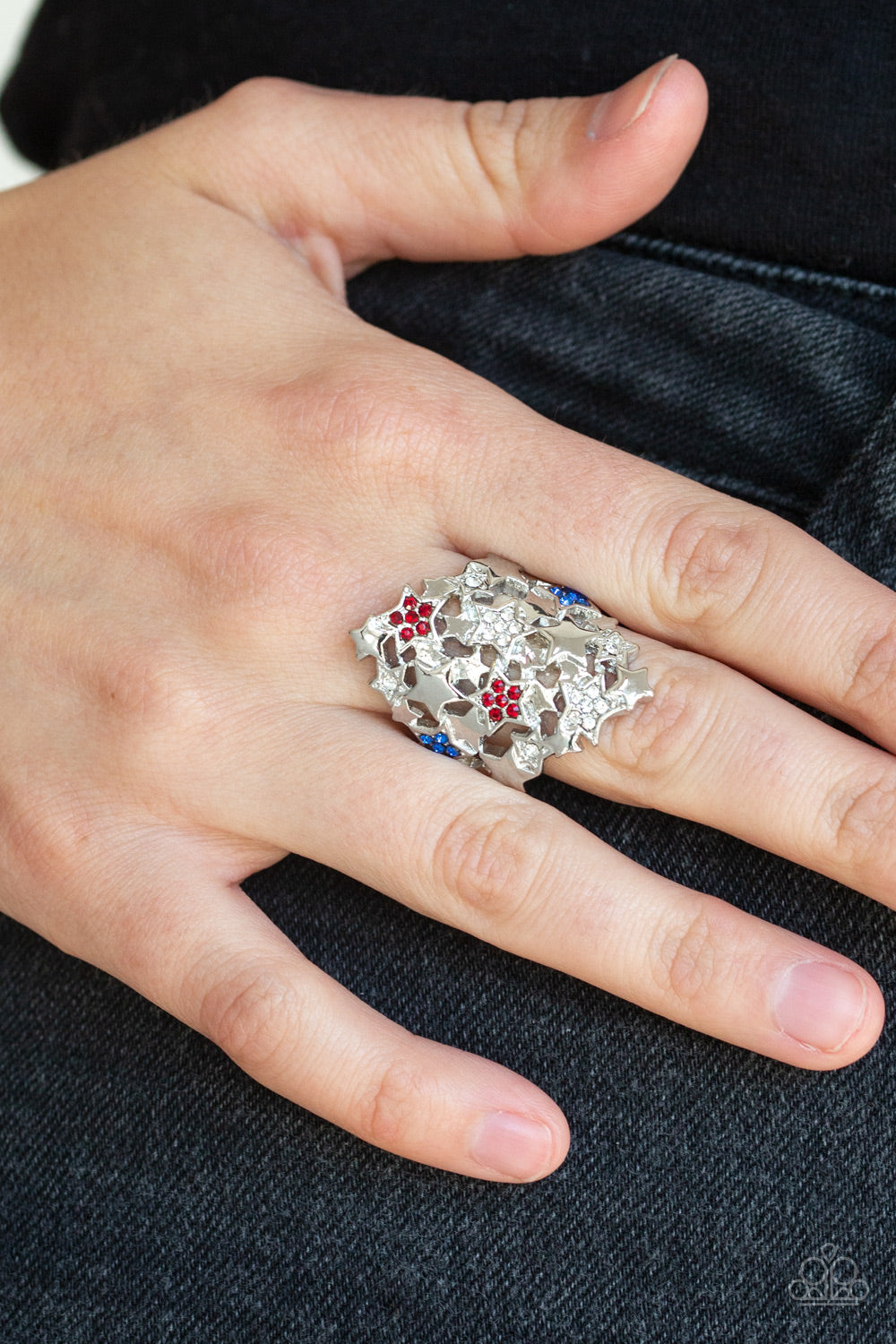 Star-tacular, Star-tacular - Multi Paparazzi Ring - Pink Dragon Jewels