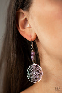 Adobe Dweller - Purple Paparazzi Earring - Pink Dragon Jewels