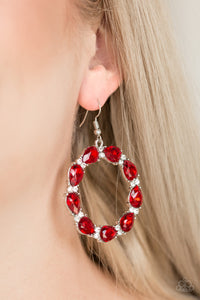 Ring Around The Rhinestones - Red - Pink Dragon Jewels