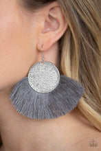 Load image into Gallery viewer, Foxtrot Fringe - Silver Paparazzi Earring - Pink Dragon Jewels