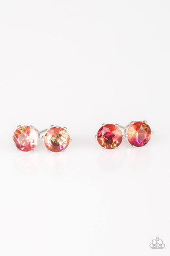 Iridescent Post Earrings - Paparazzi Starlet Shimmer - Pink Dragon Jewels