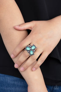 Ambrosial Garden - Green Paparazzi Ring - Pink Dragon Jewels
