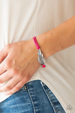 Load image into Gallery viewer, Faster Than FLIGHT - Pink Paparazzi Bracelet - Pink Dragon Jewels