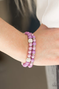 Teasingly Tinseltown - Purple - Pink Dragon Jewels