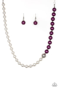 5th Avenue A-Lister - Purple Paparazzi Necklace - Pink Dragon Jewels