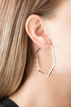 Load image into Gallery viewer, Metro Metric - Silver Paparazzi Earring - Pink Dragon Jewels