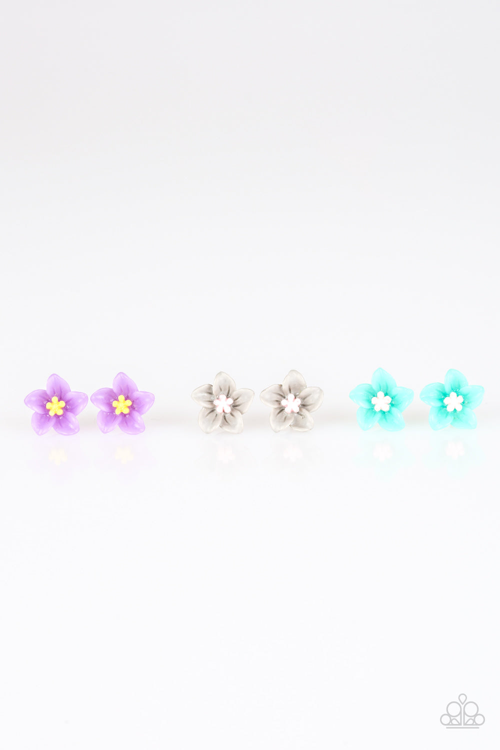 Colorful Spring Flowers - Paparazzi Starlet Shimmer Earring - Pink Dragon Jewels