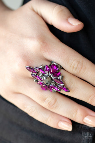 September 2019 Life of the Party: Stand Back - Pink Paparazzi Ring - Pink Dragon Jewels