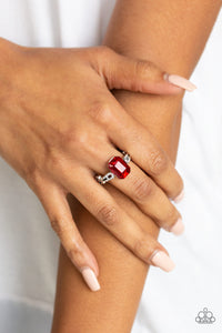 Feast Your Eyes - Red Paparazzi Ring - Pink Dragon Jewels