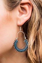 Load image into Gallery viewer, Really Rumba - Blue Paparazzi Earring - Pink Dragon Jewels