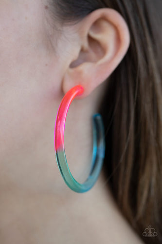 Awesome Aura - Multi Paparazzi Earring