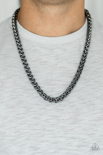 Big Talker - Black Paparazzi Necklace - Pink Dragon Jewels