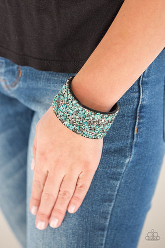 Crush Rush - Green Paparazzi Bracelet - Pink Dragon Jewels