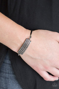 Top-Class Class - Black Paparazzi Bracelet - Pink Dragon Jewels