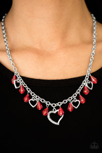Keep Me In Your Heart - Red - Pink Dragon Jewels