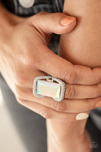 Deluxe Decadence - Multi Paparazzi Ring: July 2020 Life of the Party