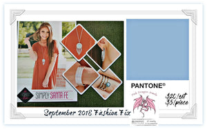 September 2018 Fashion Fix: Simply Santa Fe - Complete Trend Blend - Pink Dragon Jewels