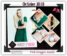 Load image into Gallery viewer, October 2018 Fashion Fix: Fiercely 5th Avenue - Complete Trend Blend - Pink Dragon Jewels