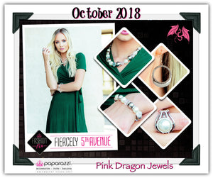 October 2018 Fashion Fix: Fiercely 5th Avenue - Complete Trend Blend - Pink Dragon Jewels