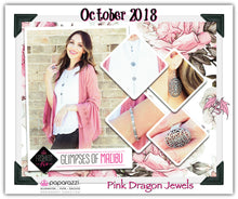 Load image into Gallery viewer, October 2018 Fashion Fix: Glimpses of Malibu - Complete Trend Blend - Pink Dragon Jewels