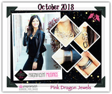 Load image into Gallery viewer, October 2018 Fashion Fix: Magnificent Musings - Complete Trend Blend - Pink Dragon Jewels