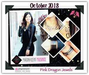 October 2018 Fashion Fix: Magnificent Musings - Complete Trend Blend - Pink Dragon Jewels